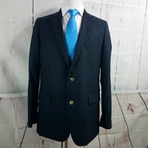 Stafford Tailored Culture Black Suit Blazer Sport
